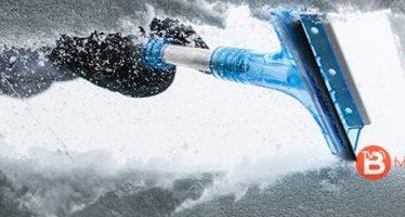 Seis consejos para eliminar el hielo del limpiaparabrisas
