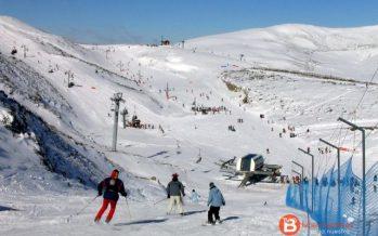 Más de 3.300 personas este fin de semana en las estaciones de esquí de León