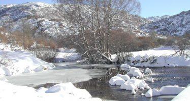 Mañana se esperan acumulaciones de nieve de 18 centímetros en Sanabria
