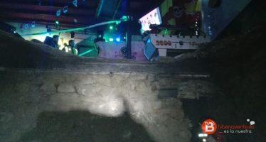 VIDEO: El suelo de un bar de Villafáfila se hunde dejando doce heridos