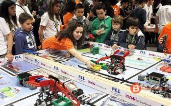 Jóvenes estudiantes de Zamora compiten por la First Lego League