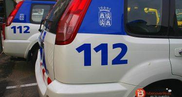 Dos heridos por un fogonazo mientras trabajaban una instalación eléctrica en La Bañeza