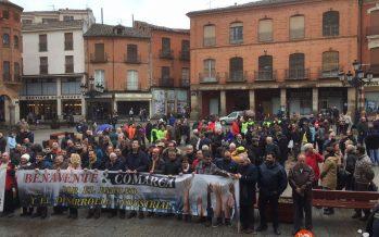 GALERÍA: Concentración Kronospan en Benavente