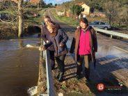 La Diputación se compromete con el nuevo puente en Domez de Alba
