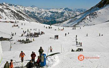 Casi 13.000 esquiadores en las estaciones leonesas durante el fin de semana