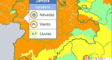 Sanabria se encuentra en triple alerta por nevadas, viento y lluvia