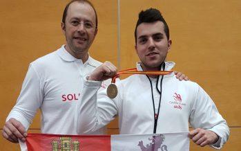 """El leonés Fernando González logra la Medalla de Oro en el """"Spainskills 2017"""""""