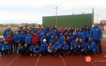 El Club Benavente Atletismo consigue varios pódiums este fin de semana