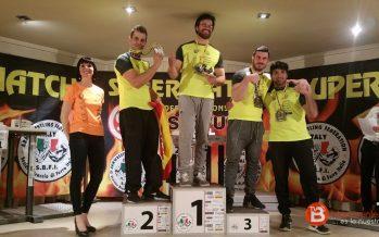 Bode García Ríos subcampeón en 105 kg con el brazo derecho en Italia