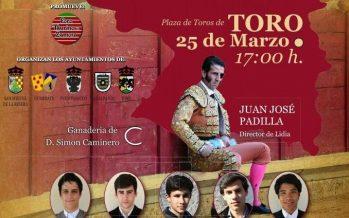 """Padilla, presente en la Gran Final del VI Bolsín Taurino """"Tierras de Zamora"""""""