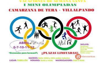 Camarzana de Tera y Villalpando celebrarán sus I Mini Olimpiada en Semana Santa
