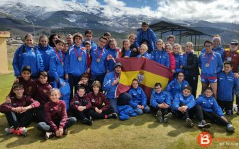 El Club Benavente Atletismo campeón de Castilla y León en 60 ML