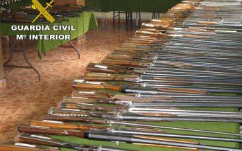Subasta de armas en la Comandancia de la Guardia Civil de Zamora