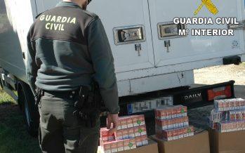 Cuatro detenidos como supuestos autores de un delito de contrabando de tabaco
