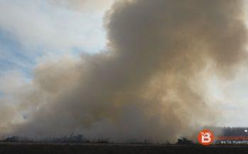 GALERÍA: Incendio controlado en la zona de Cenvicos