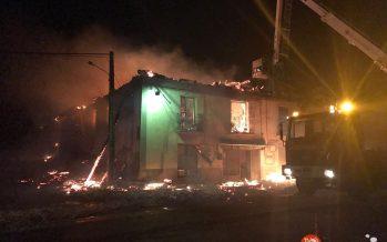 GALERÍA: Incendio en el emblemático bar de La Torre del Valle