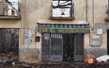 """VIDEO: Noticia del incendio en el bar """"El Mesón"""" de La Torre del Valle"""