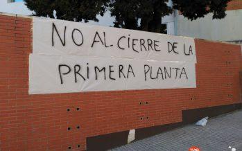Manifestación a las 19 horas en la entrada del hospital por el cierre de la planta