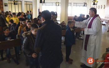 GALERÍA: El Colegio Virgen de la Vega celebra el miércoles de ceniza