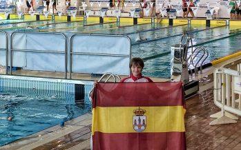 La benaventana Nasta Salvador consigue sorprender en el Nacional de natación