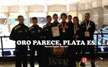Arkaitz Rodríguez subcampeón en el Open de España de Taewondo