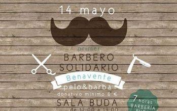 """Primer encuentro """"Barbero Solidario"""" en Benavente a favor de AFIBE"""