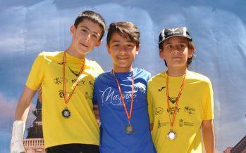 Daniel González Rodríguez consigue el oro en la categoría infantil en Astorga