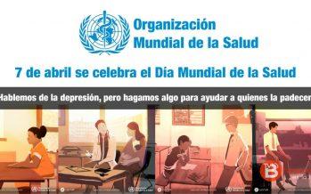 """Con motivo del Día Mundial de la Salud la OMS pone en marcha la campaña """"Depresión: hablemos"""""""