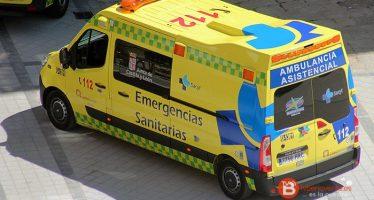 Dos heridos en un choque frontal en el término municipal de Molacillos