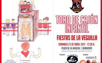 III Toro de Cajón Infantil de Charamandanga el domingo 23 de abril