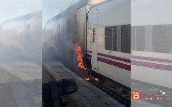 Un incendio en un Alvia obliga a desalojar a los pasajeros en Puebla de Sanabria