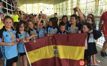 El Club Salvamento Benavente campeón de Castilla y León 2017 en categoría alevín