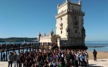 78 alumnos de Los Sauces realizan su viaje de estudios a tierras portuguesas
