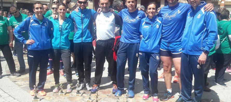 Los atletas del Benavente consiguieron pódiums en la Maroma Solidaria