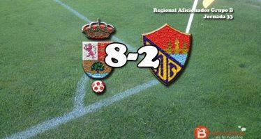 El C.D Benavente encaja ocho goles ante un Onzonilla parejo en la tabla