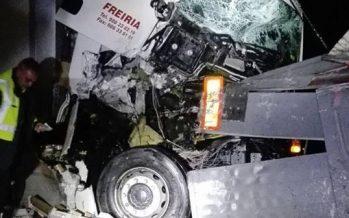 Un herido de 44 años tras la colisión de dos camiones en Villalpando