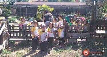 """Visita a la Granja Escuela de los alumnos de infantil de """"La Vega"""""""