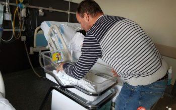 Un bebé benaventano llamado Rubén ha nacido esta madrugada en casa