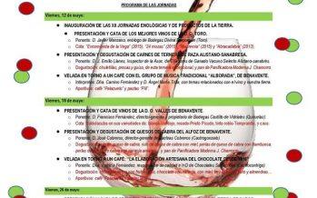 XII Jornadas Enológicas y de productos de la tierra en Benavente