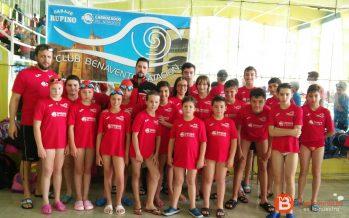 3 bronces para el Benavente Natación en el X Trofeo Ciudad de Burgos