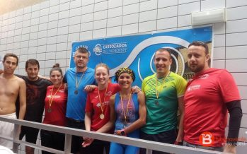 El Benavente Natación triunfa con 14 medallas en el Campeonato Máster