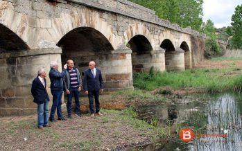 Obras de mejora y de limpieza del arroyo de Camarzana de Tera