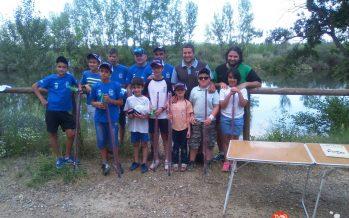 Víctor Aguilar se proclama campeón en el Concurso de pesca infantil