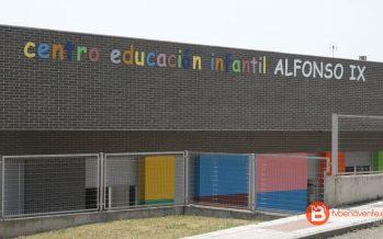 "Listado definitivo de admitidos en la Escuela Infantil Municipal ""Alfonso IX"""