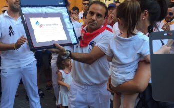 Gran homenaje a Jorge Villar por sus compañeros y amigos