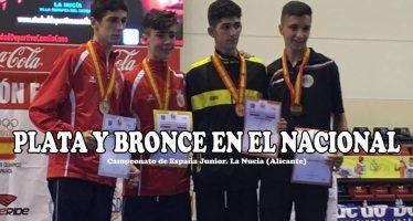 Dos medallas para el Quesos el Pastor en el nacional de taekwondo Junior