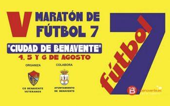 Abierto el plazo de inscripciones para el V Maratón Fútbol 7