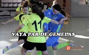 Las gemelas Laura y Silvia Grande también serán jugadoras atléticas