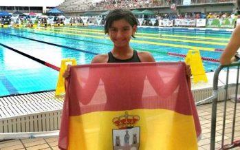 Aitana Gutiérrez deja huella en el Campeonato de España de Natación