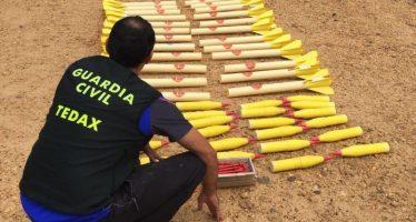 Destruidos 24 cohetes para dispersar el granizo en Villanueva de Jamuz